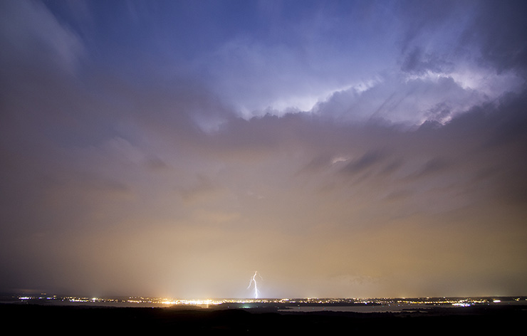 Lightning over Poole