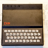 Click to view large image of Completed ZX81 Computer