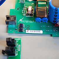 Opto Couplers and new Optical board