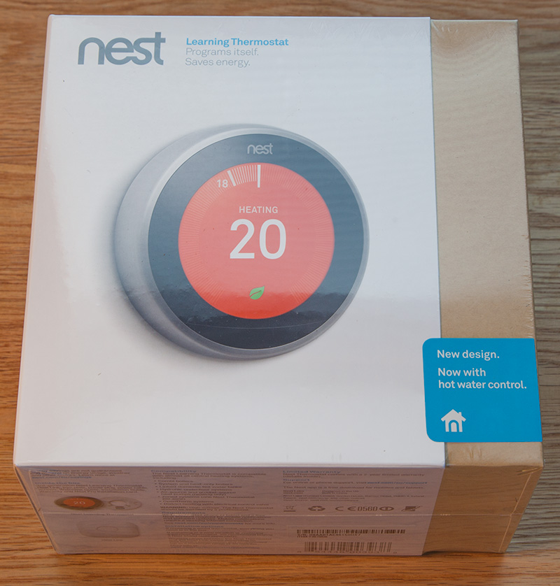 Nest Learning Thermostat 3rd Gen Hot Water Installation