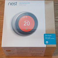 Click to view larger image of Nest Thermostat box