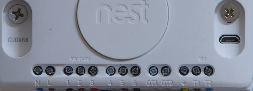 nest learning thermostat 3rd gen hot water installation on the nest thermostat install