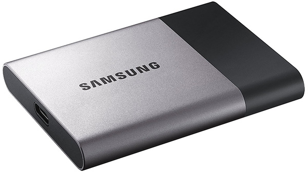 The external SSD drive