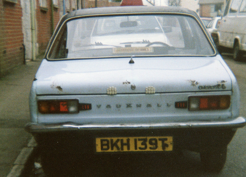 Vauxhall Chevette back