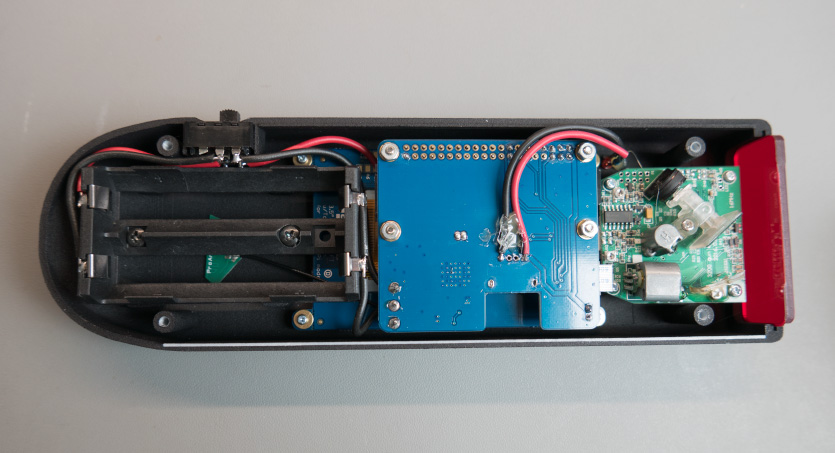 Raspberry Pi Barcode Scanner Boards Fitted