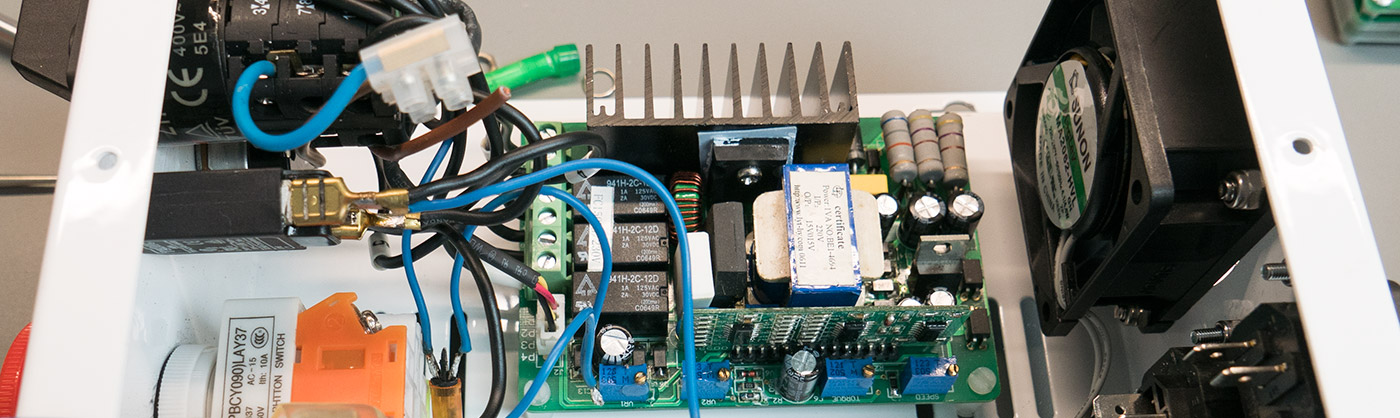 CNC Mill motor controller