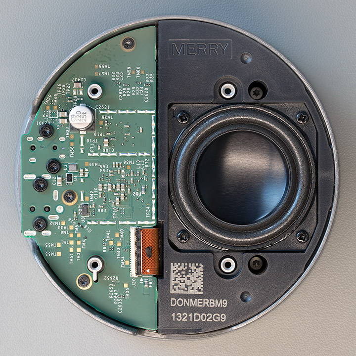 Amazon Echo Dot Rev 3 Metal Chassis with base PCB and speaker