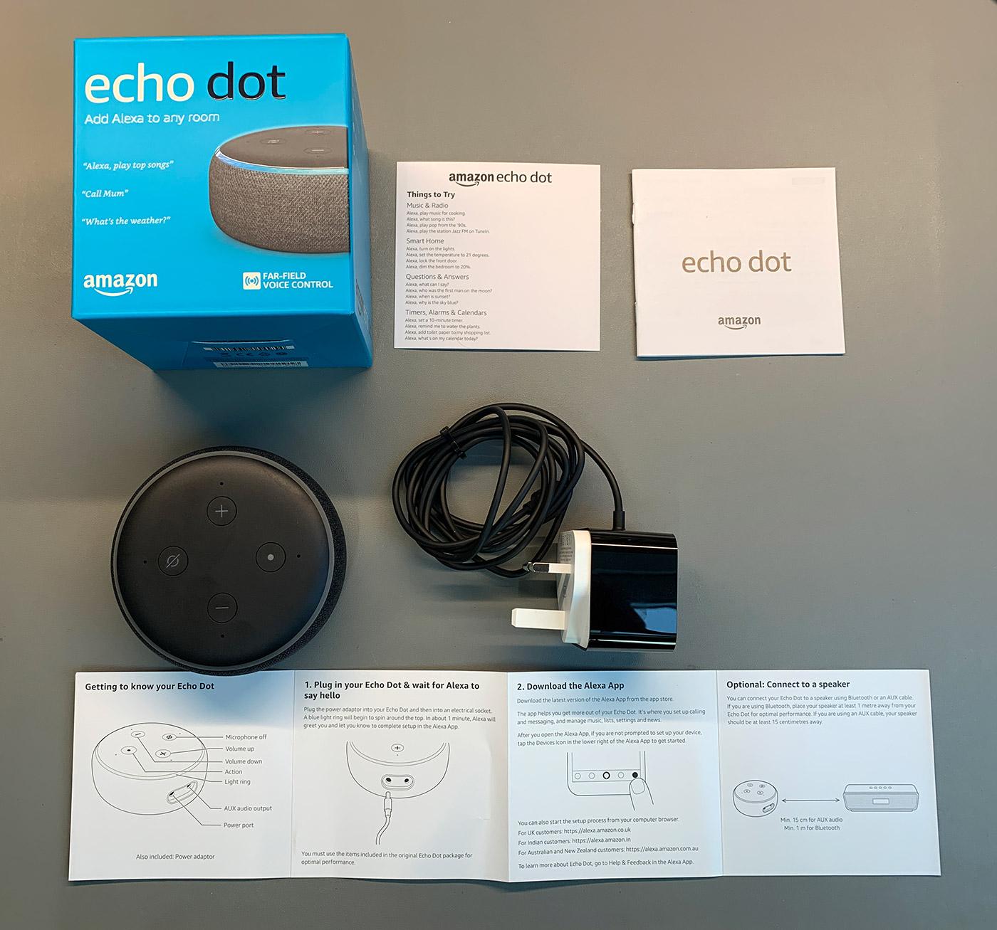 Echo Dot 3rd Gen Smart speaker Teardown