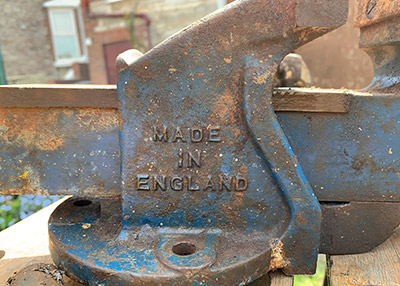 Rusty Made in England