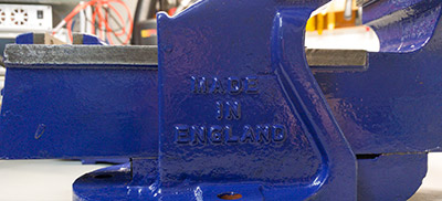 Fresh Paint on Made in England Logo