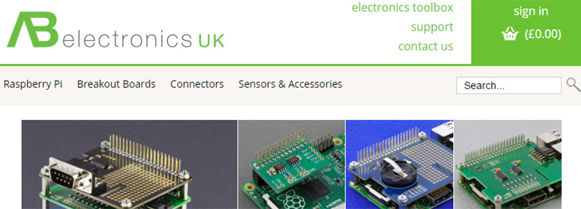 AB Electronics Website