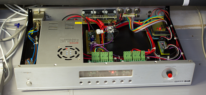 Control box and power supply