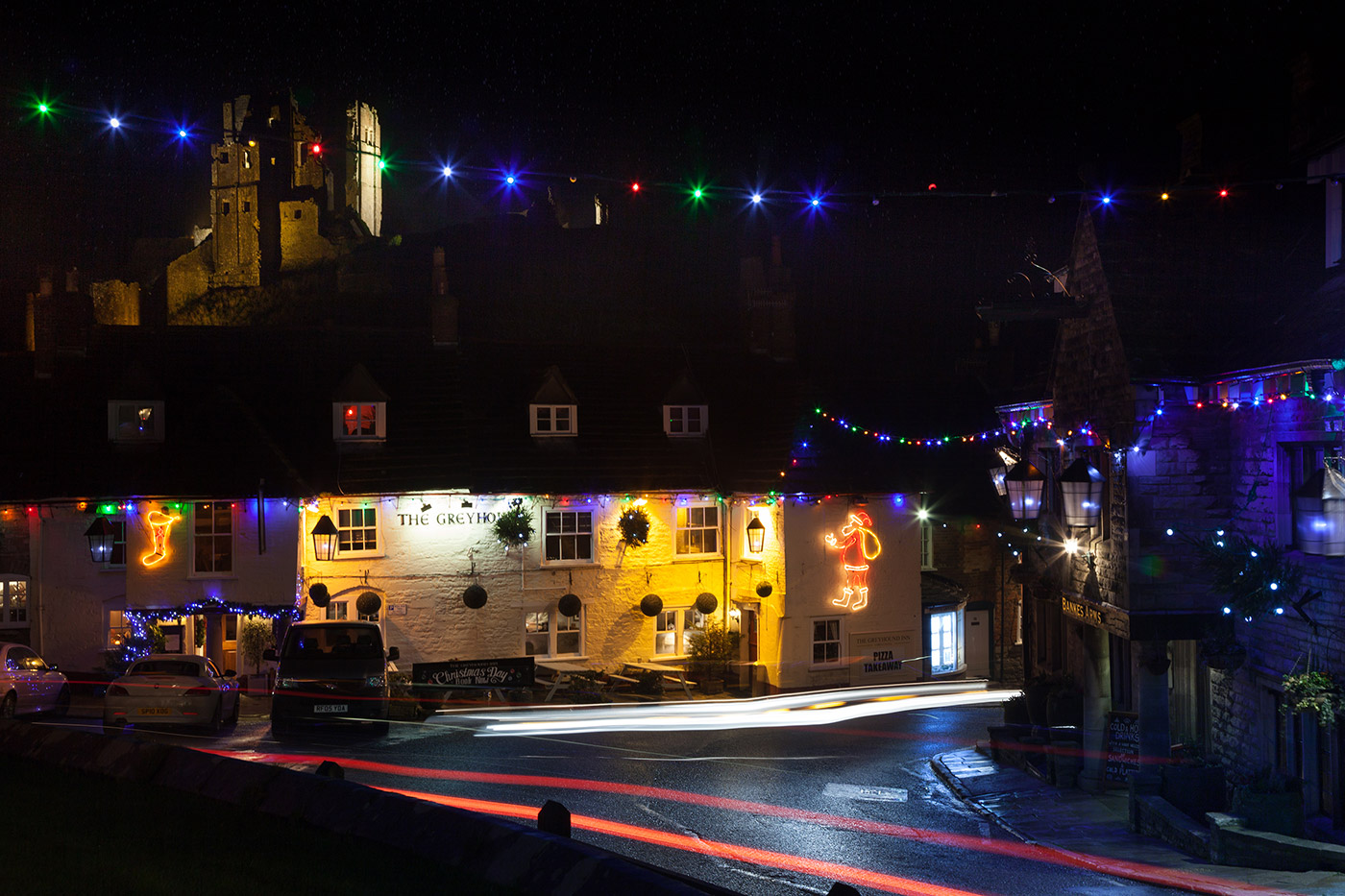 Photo of Corfe christmas illuminations