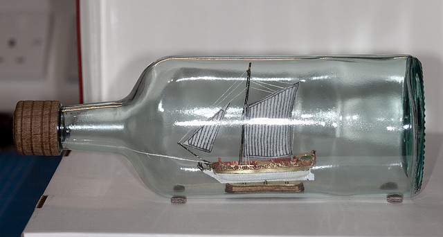 Photo of Ship in bottle