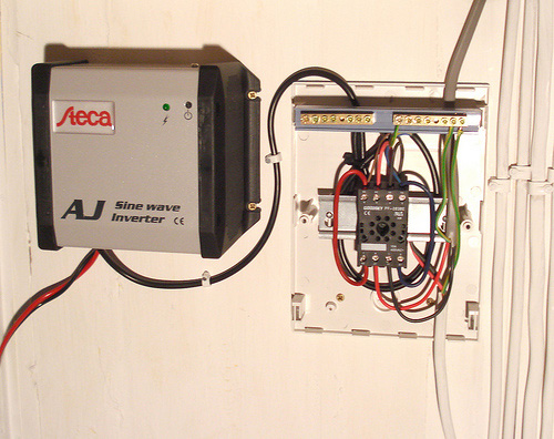 Inverter and relay box