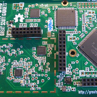 Click to view large image of HackRF One PCB