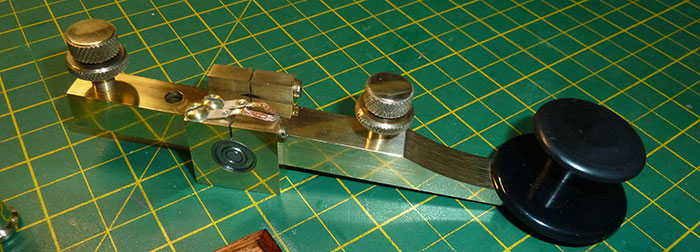 Kent Hand Morse Key Restoration