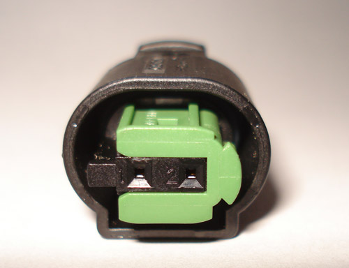 Land Rover heated seat connector