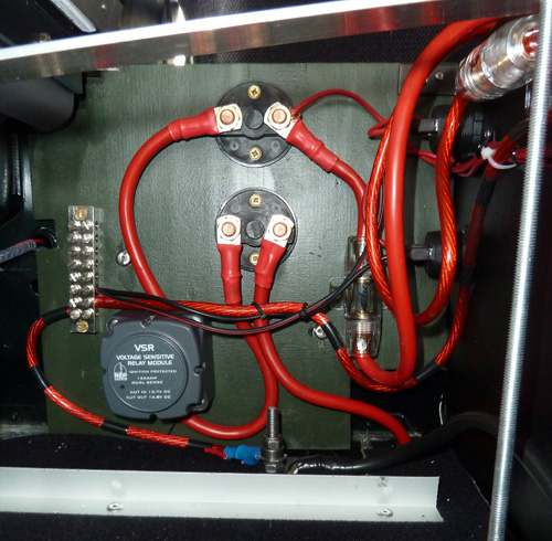 Land Rover Defender Split Charge Setup