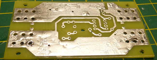 Low Voltage Cut off pcb
