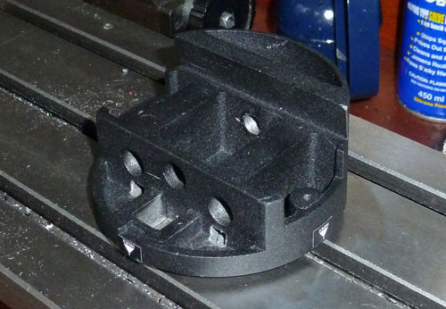 Merlin Panohead before milling