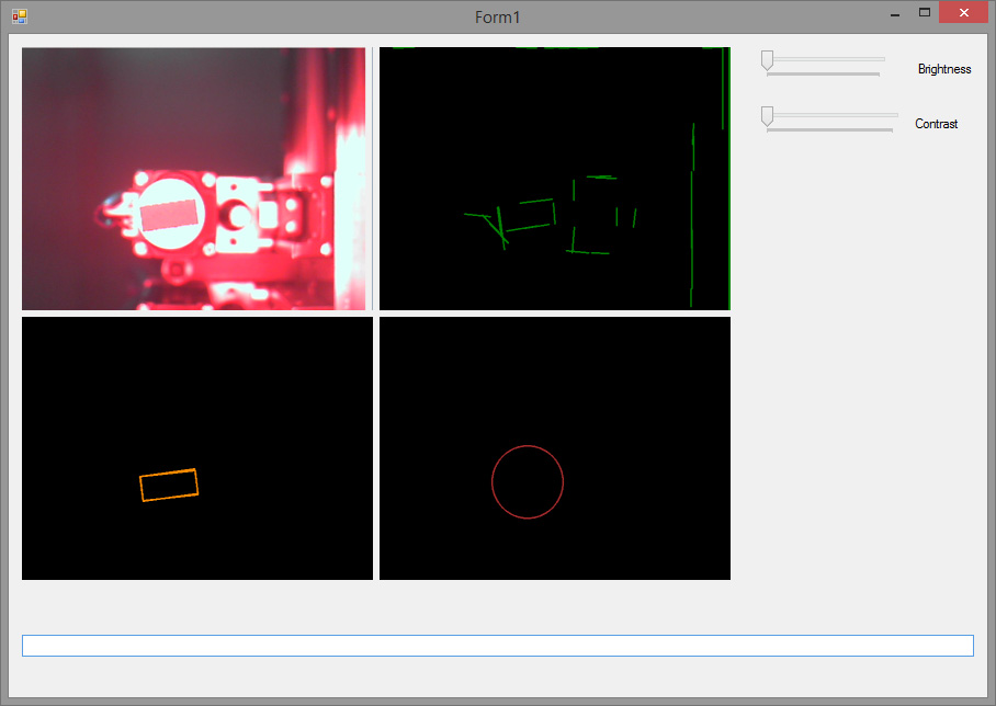 small electronic component detection - Emgu CV: OpenCV in  NET (C#