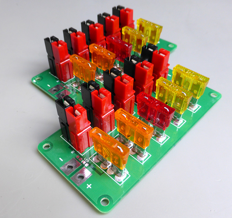 Powerpole Fused Distribution Board
