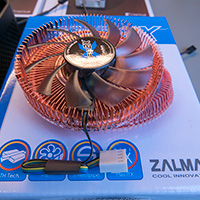 Click to view large image of Top of the CPU Cooler