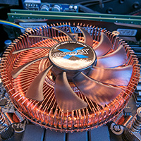 Click to view large image of CPU Heatsink Fitted