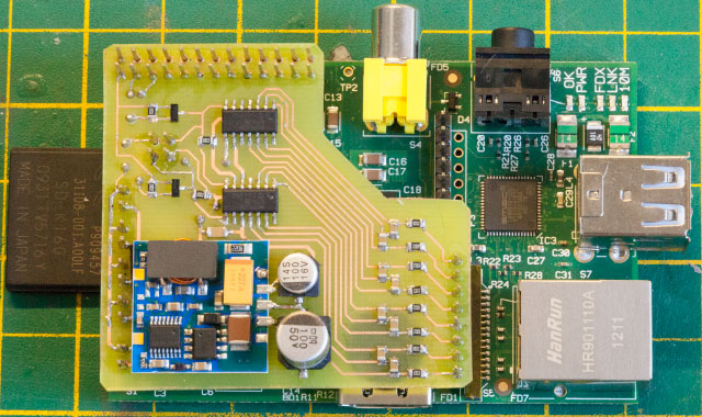 Raspberry Pi ADC board