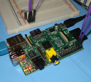 Raspberry Pi I2C Microchip MCP9800123 Temperature Sensor