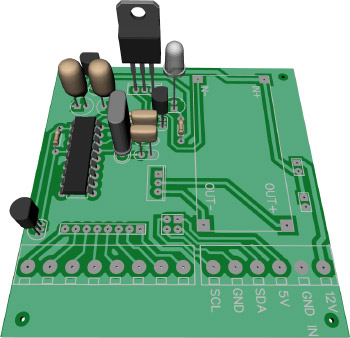 Raspberry Pi ADC Interface board