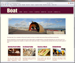 Boat café / Bar in Weymouth