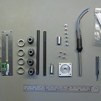 Click to view large image of Cut parts ready to be assembled