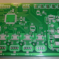 Paste on the PCB
