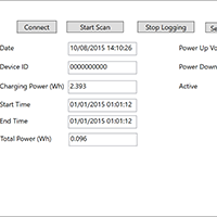 Click to view large image of Data Logger Windows App