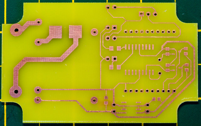 PCB drilled